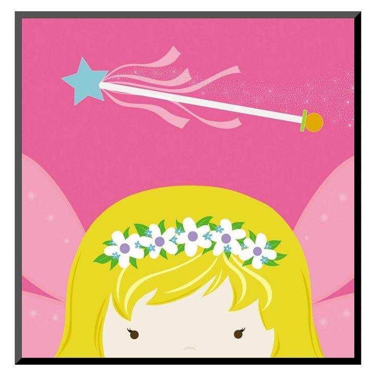 Art.com - Peek-a-Boo Fairy
