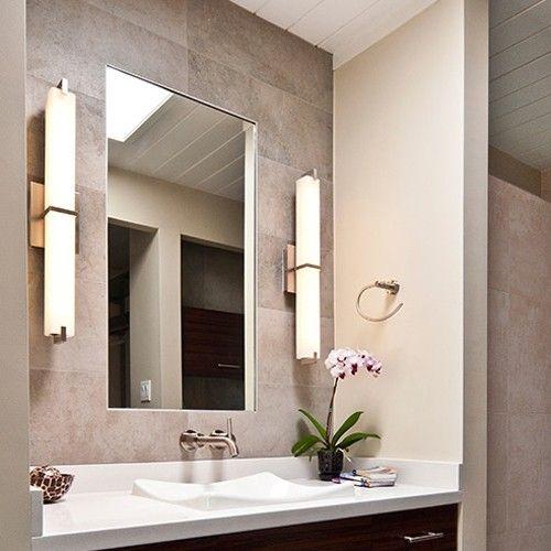 Bathroom Vanity Light Diffuser : 42 best images about Modern Bathroom Lighting on Pinterest Diffusers, Bathroom lighting and ...