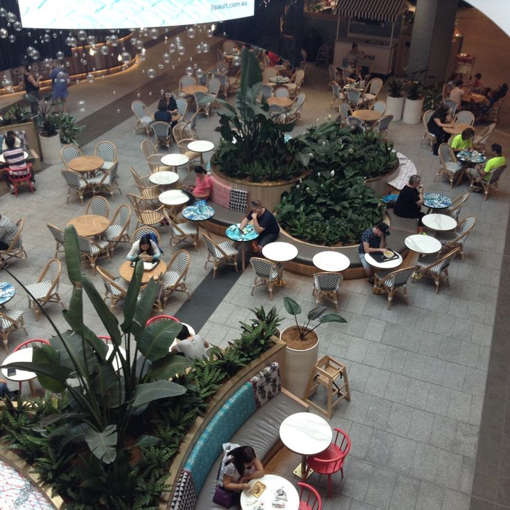 Food Court Seating Pacific Fair