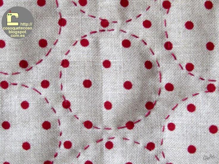 La autora de COSO QUE TE COSO nos enseña a acolchar nuestros trabajos de costura.