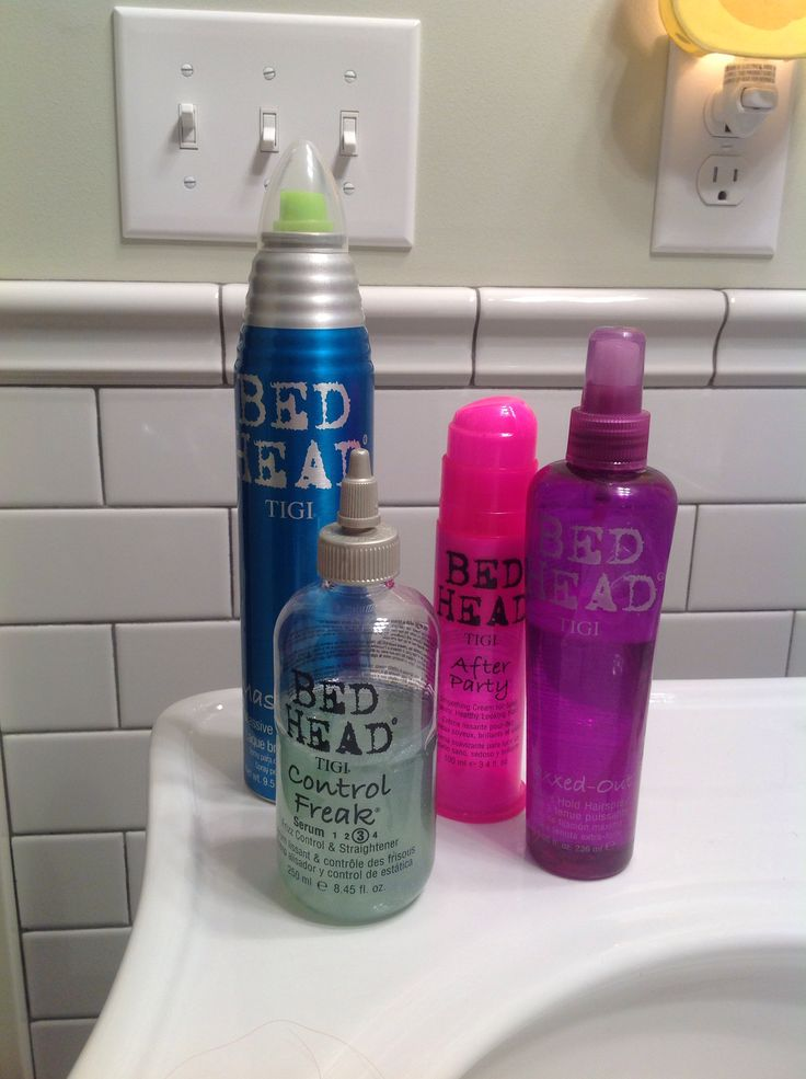 Bed head hair products