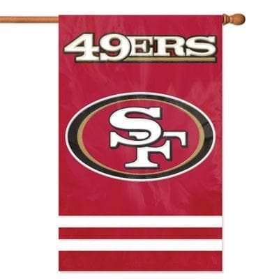 Party Animal San Francisco 49Ers Banner Nfl Flag