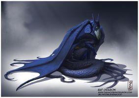 Bat Dragon by LyntonLevengood