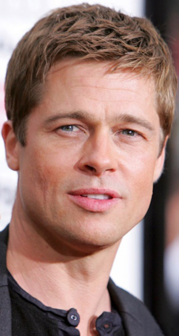 Brad Pitt.....he looks like Robert Redford!