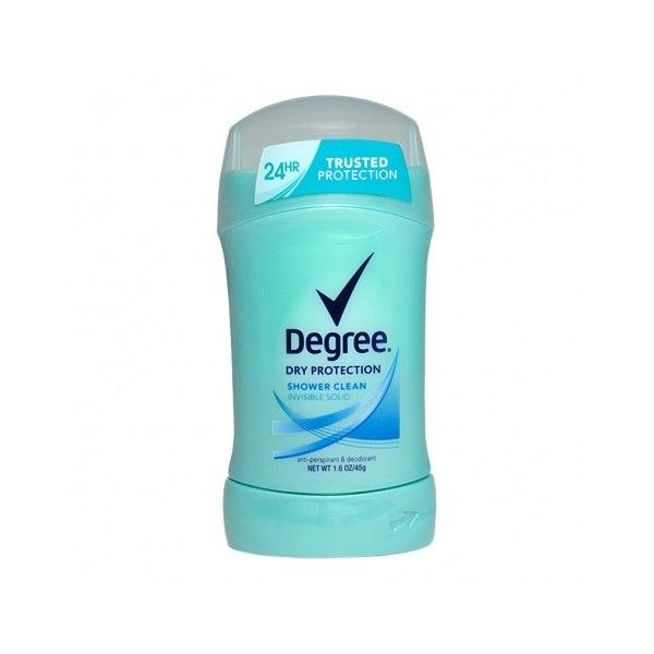 Degree Dry Protection Shower Clean Antiperspirant Deodorant... ($2.78) ❤ liked on Polyvore featuring beauty products, bath & body products, deodorant, antiperspirant deodorant, antiperspirant and deodorant, anti perspirant deodorant, travel size deodorant and anti perspirant and deodorant