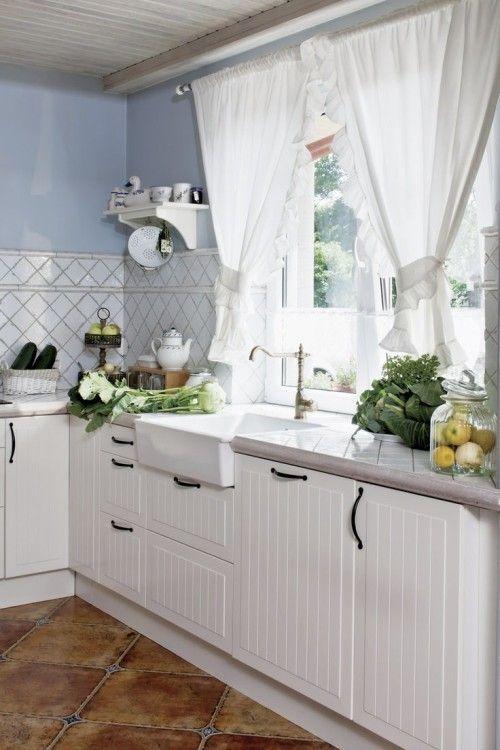 Marvelous Kitchen Curtain Ideas: Kitchen Curtain Country Home ~ Country Kitchen  Curtains Inspiration