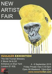 New Artist Fair Poster