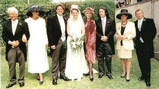 Joanna Lumley - Son Jamie's Wedding - Isle of Wight 1997