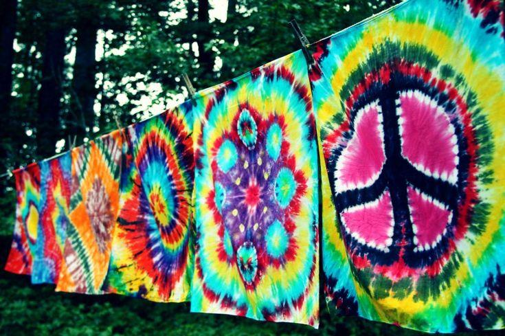 ☮ American Hippie Bohéme Boho Lifestyle  ☮ Tie Dye