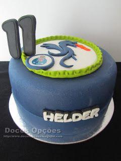 Doces Opções: Bolo para o aniversário do dragão Helder