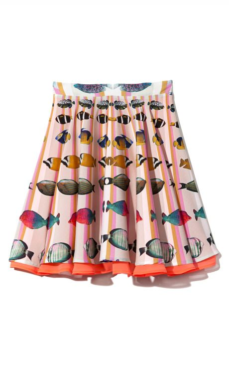 Clover Canyon Fish-Ray Skirt at Moda Operandi