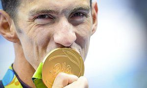 United States' Michael Phelps won his 20th and 21st Olympic gold medals on a…