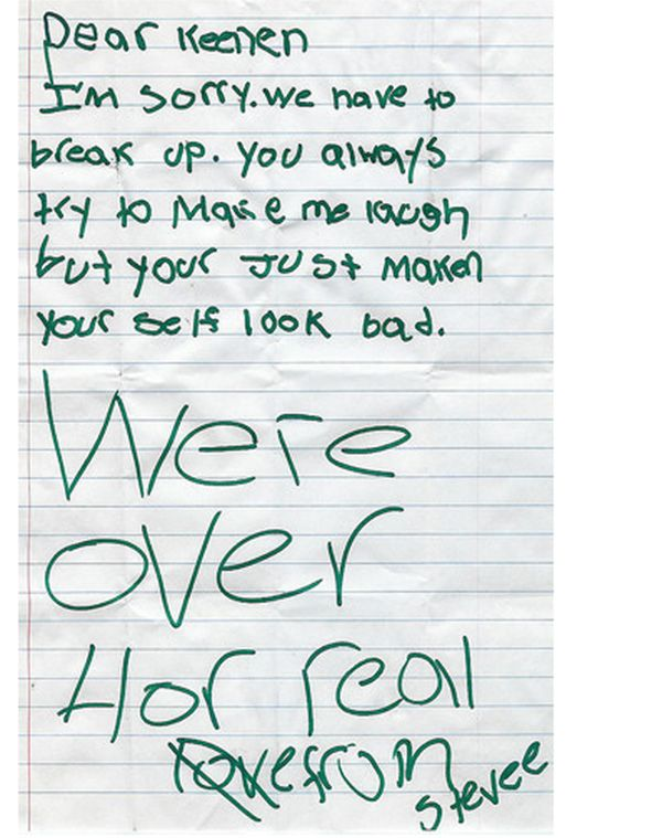 Best  Break Up Letters Ideas On   Sad Words Sad