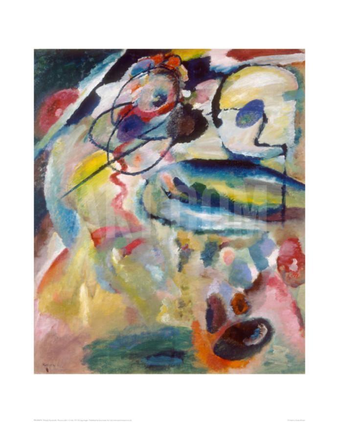 Improvisation 19A - kandinsky, 1911 | Wassily kandinsky
