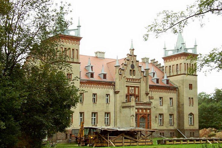 Nieznane zamki Wielkopolski #polska #poland #travel