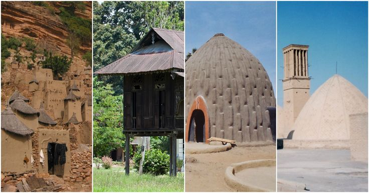 """""""Vernacular architecture can be said to be 'the architectural language of the people' with its ethnic, regional and local 'dialects,'"""" writes Paul..."""