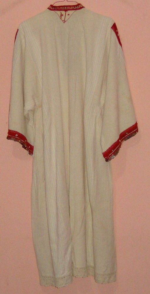 UNIQUE BALKAN HAND EMBROIDERY WOMAN LONG DRESS, EXCELLENT, NEEDLE WORK | eBay