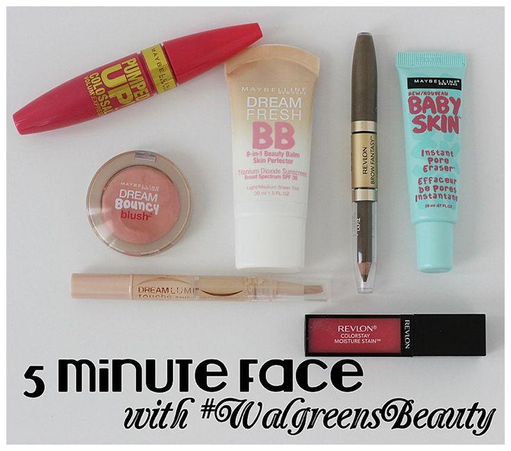 5 minute face #walgreensbeauty #shop