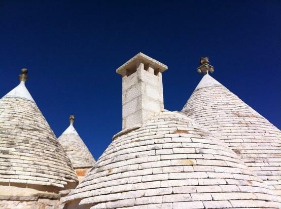 #Puglia Blue sky #trullo