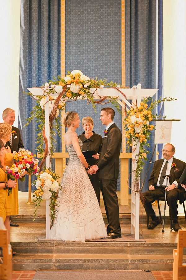 276 best images about church decor ceremony on pinterest for Decorating a trellis for a wedding