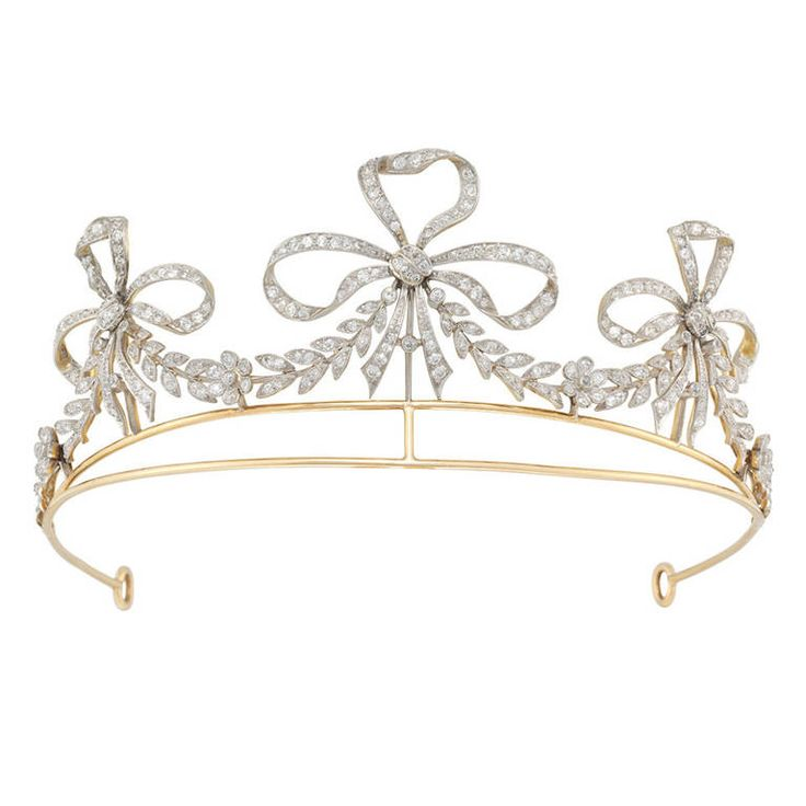 Bailey Banks & Biddle Diamond Scroll Tiara | From a unique ...