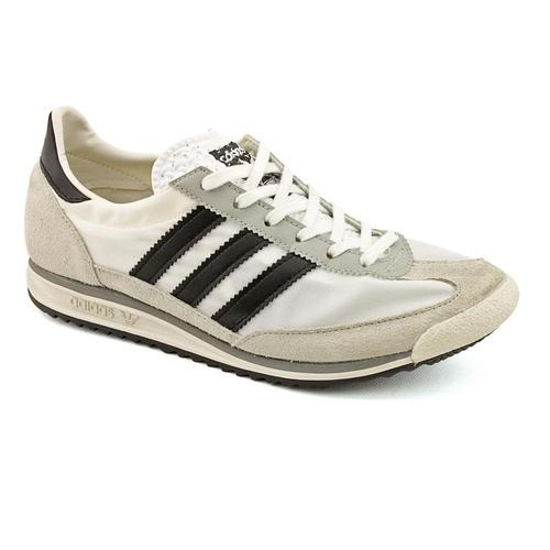 Adidas SL 72 White Leather Sneakers