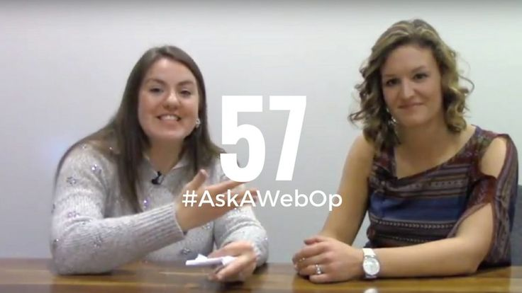 Lauren joins Taylor this week on #AskAWebOp to share her tips on how to make your business website redesign a total success.