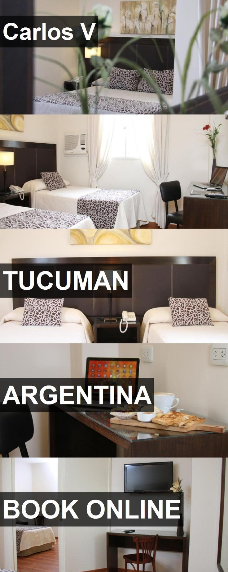 Hotel Carlos V in Tucuman, Argentina. For more information, photos, reviews and best prices please follow the link. #Argentina #Tucuman #CarlosV #hotel #travel #vacation
