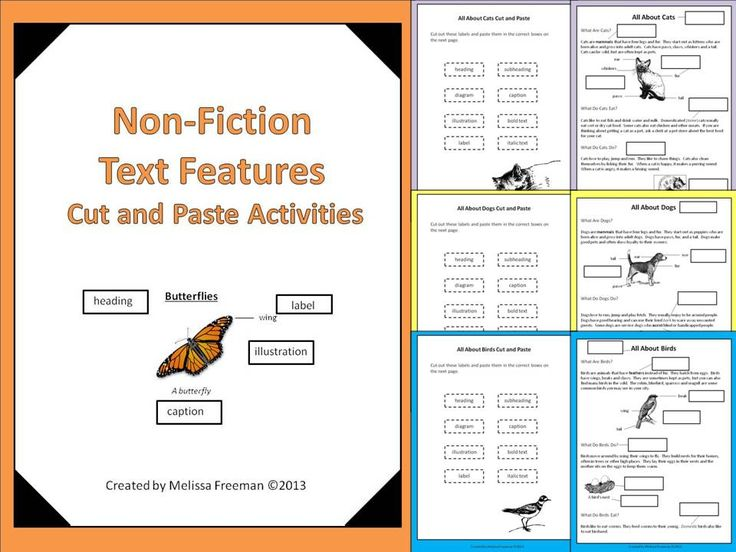 Non-Fiction Text Examples Resources