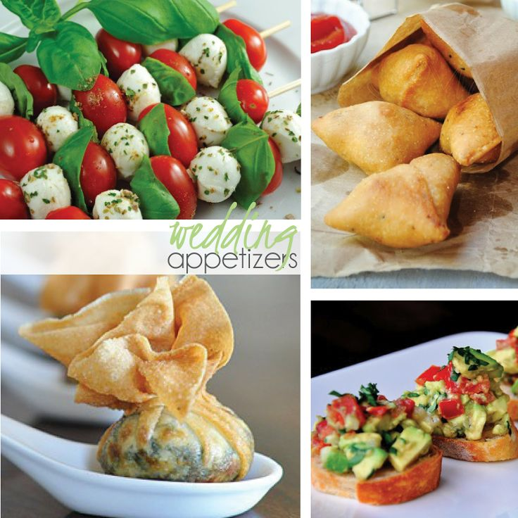 1000 Images About Wedding Appetizers On Pinterest