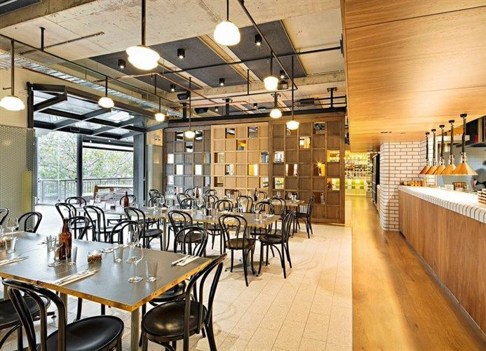 Steel Windows and Doors | Windows on the World | Our Projects: Hophaus Bier Bar Grill