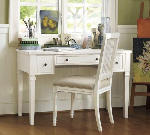 Meredith vanity desk from Pottery Barn