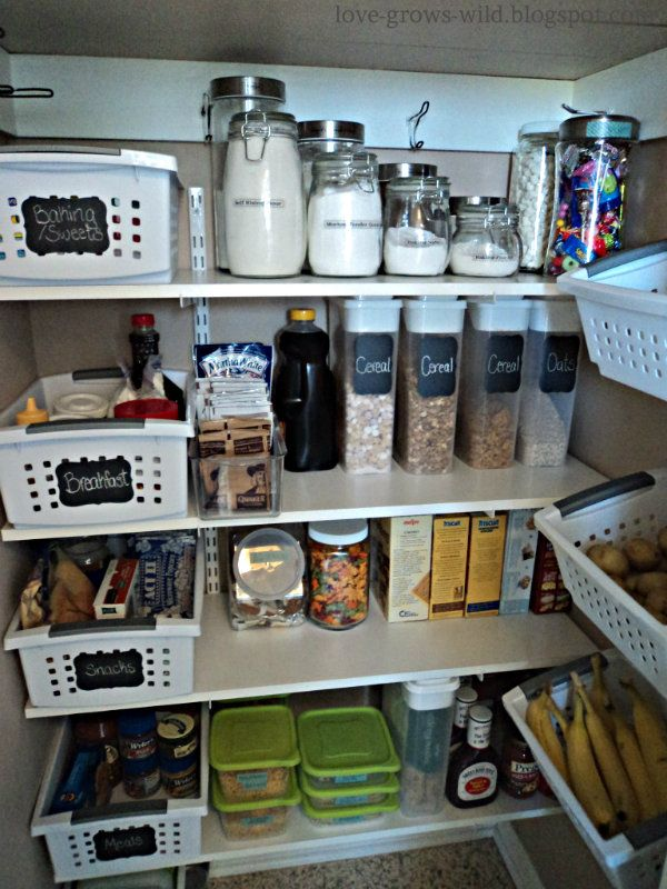 Super organized pantry (SST #16)