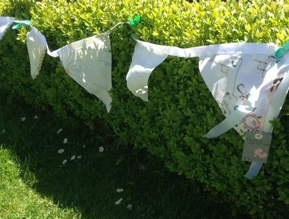 Linen+&+Lace+Bunting