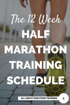 This 12 week half marathon training program is for beginner runners and beginner exercisers.