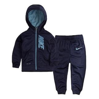 Baby Boy Nike Therma-FIT Hoodie & Jogger Pants Set