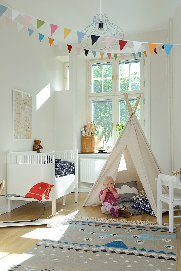Kids room - Mountain rug - Alvhem Mäkleri