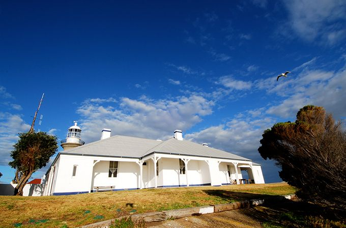 Montague Island Lighthouse Keepers Cottage; photo: SCohen
