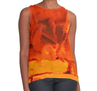 Eruption Contrast Tank available at http://www.redbubble.com/people/chrisjoy/works/24197821-eruption