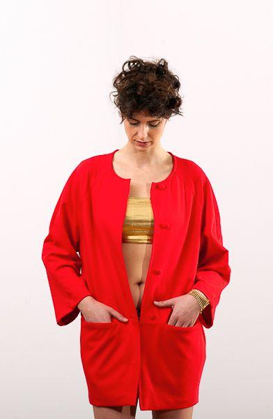 #lakola#clothes#coat#red#