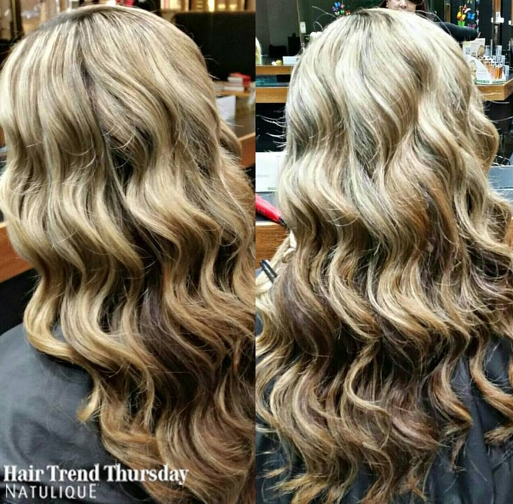 Soft wavy curls for this week's Hair Trend Thursday. By X-Per-Tease Award Winning Hair Studio in Australia.  #NATULIQUE #NATULIQUEchic #HairTrendThursday #Colouring #Natural #BraidAid