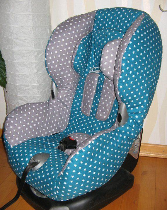 Grau-Blau Ersatzbezug passend für Maxi Cosi Priori XP