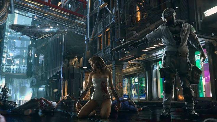 Cyberpunk 2077  I am drooling.