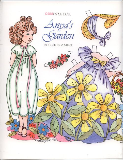 Anya's Garden-and additional clothes-click once--d--* 1500 free paper dolls at artist Arielle Gabriel's The International Paper Doll Society also free China paper dolls at The China Adventures of Arielle Gabriel, the Canadian travel site on Hong Kong & China