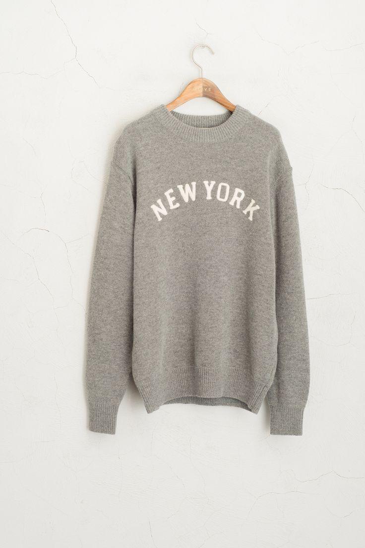 Olive - New York Knit Jumper, Grey, £65.00 (http://www.oliveclothing.com/p-oliveunique-20160120-112-grey-new-york-knit-jumper-grey)