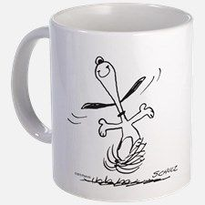 I Feel Free Snoopy Mug Mugs for