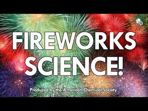 This Lab Demonstration Shows The Chemistry Of Fireworks Up Close! - Chemistry