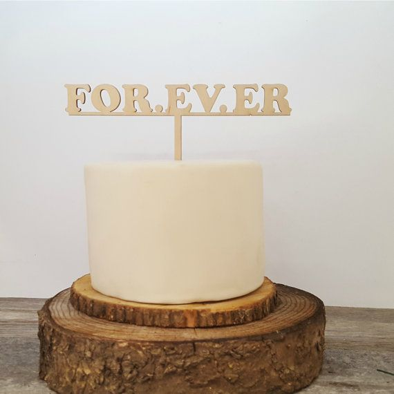 FOR. EV. ER Cake Topper Sandlot Quote Wedding Cake by JimboGee