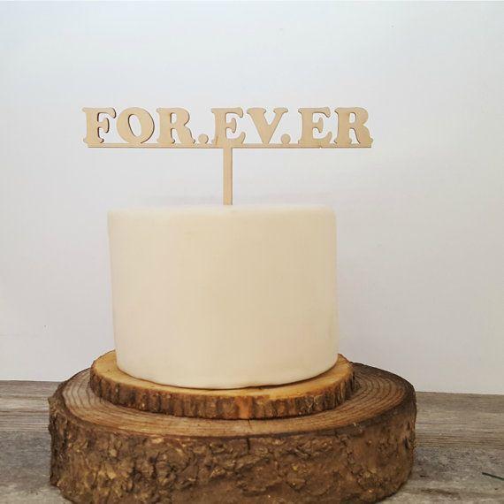 FOR. EV. ER Cake Topper Sandlot Quote Wedding Cake by JimboGee