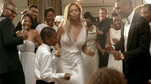 reception dress...Look By Look: Beyoncé's 'Best Thing I Never Had' Music Video | MTV Style